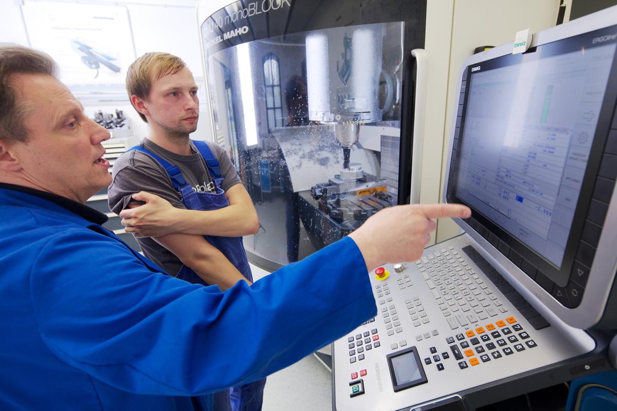 Partner in der Metall-Ausbildung