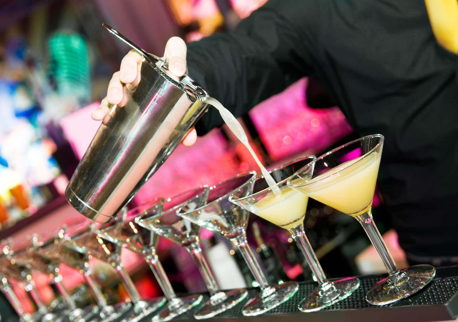 Kurs für Barkeeper